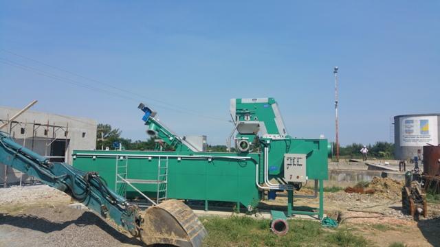 Početak ugradnje opreme na prečistaču otpadnih voda